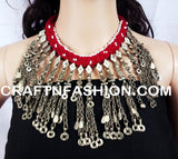 Belly Dance Vintage 1960s Afghani old Necklace