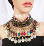 Afghan Kuchi old  coin necklace