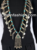 Afghan Antique Kuchi Tribal Pendant set
