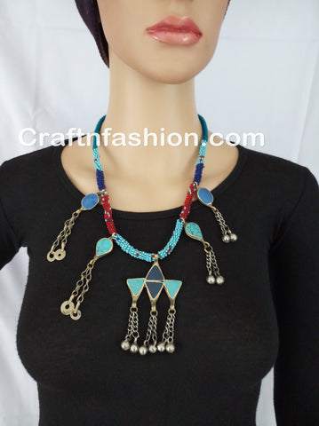 Traditional Afghani Necklace
