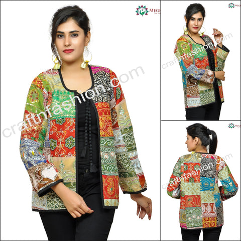Multicoloured Banjara Ladies Jacket.