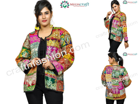 Banjara Bohemian Style Embroidered Jacket