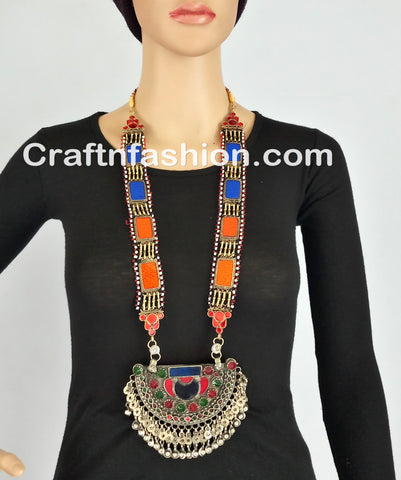 Tribal Gypsy Hippie Necklace set