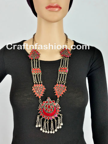 Ethnic Vintage Banjara Necklace