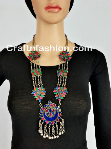 Vintage Afghani necklace