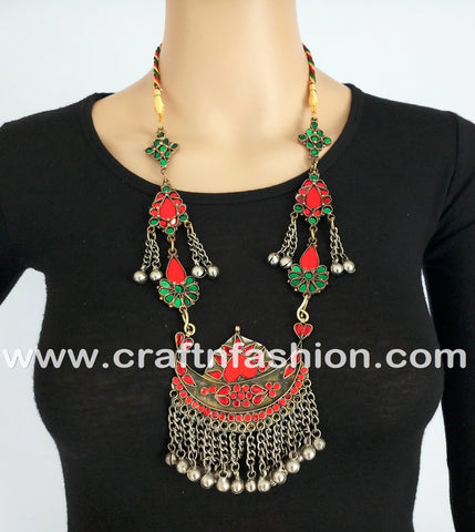 Hippie Festival Wear Afghani Costume Jewelry