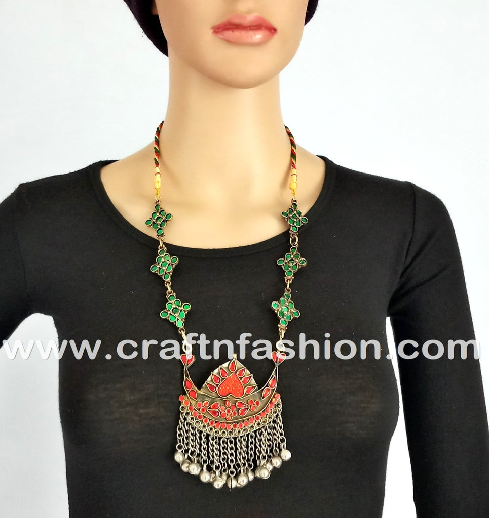 Vintage Designer Belly Dance Afghani Jewelry