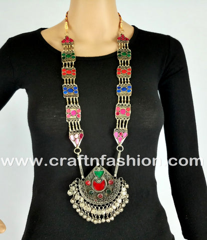 Urban Style Bohemian Kuchi Necklace