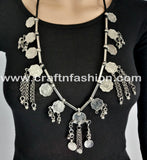 Hippie Festival Wear Afghan Coin Kuchi Jewelry