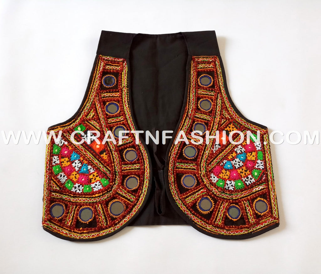 Indian Banjara Style Navratri Shrug - Koti.