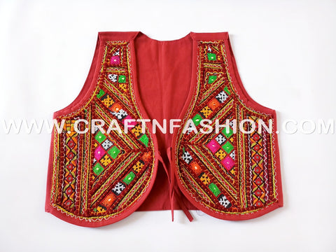 Indian Handmade Banjara Koti - Jacket.
