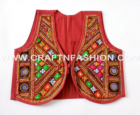 Designer Handmade Multi Coloured Jacket.