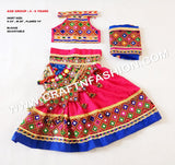 Indian Traditional Garba Costume For Kids