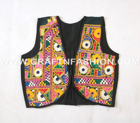 Sleev Less Hand Embrodered Koti JACKET.