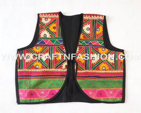 Indian Banjara Style Navratri Shrug.