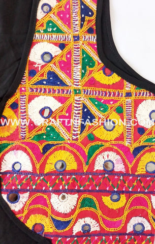 Indian Boho Style Kutch jacket - koti