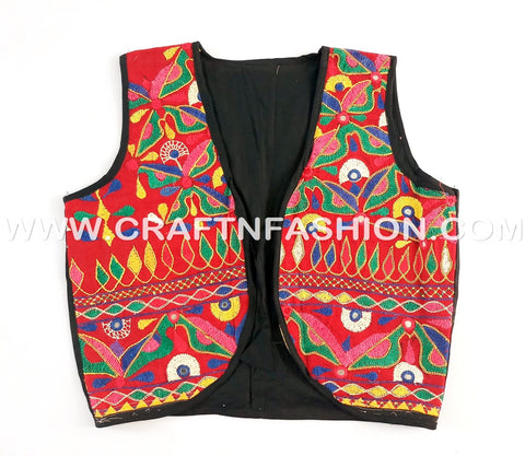 Kutch Embroidered Koti Jacket