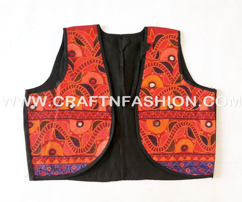 2018 Bollywood Style Kutchi Embrodered Shrug