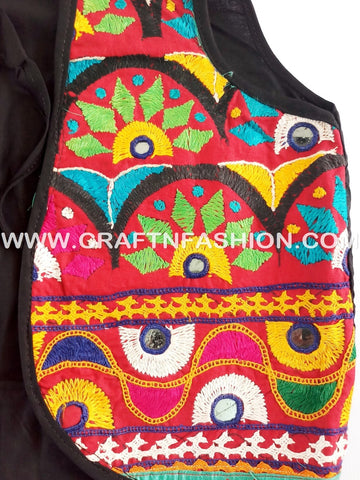 Designer Handmade Multicoloured Jacket.