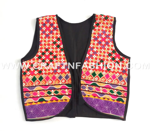 Gujarati Embroidered Koti - jacket