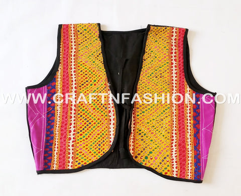 Gujarat Dance Costume Jacket - Koti
