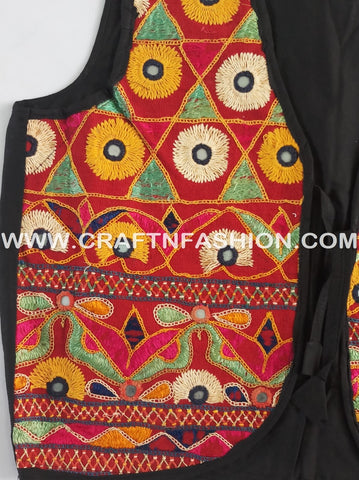 Indian Ethnic Style Cotton Jacket Koti Shrug