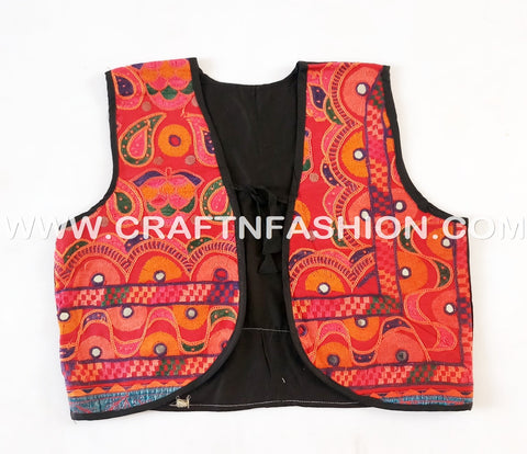 Ladies Fashion Wear Multicoloured Koti - Vests