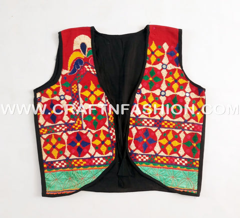 Gujarati Dance Wear Koti - jacket