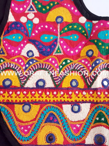 Gujarati Traditional Embroidered Koti