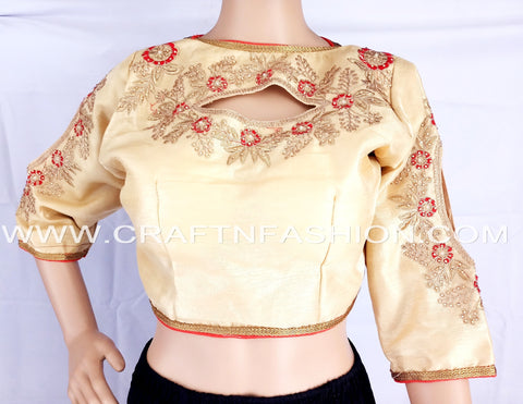 2018 Latest Designer Fashionable Readymade Saree Blouse.