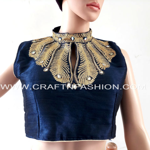 2018 Bollywood Fashion Ready made Sari Blouse