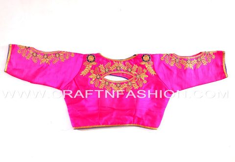 Designer Crop Top Blouse For Sari/Lehenga Choli