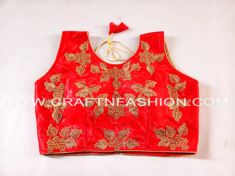 Designer Crop Top For Saree/Lehenga Choli