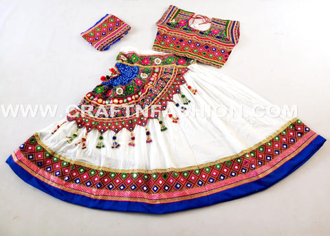 Gujarat Dance Costume Dress Ghaghra Choli