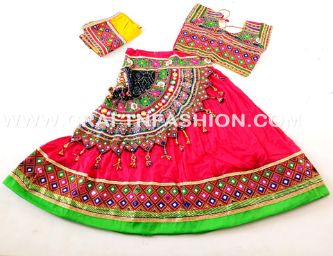 Indian Fusion Dandiya Costume Dress