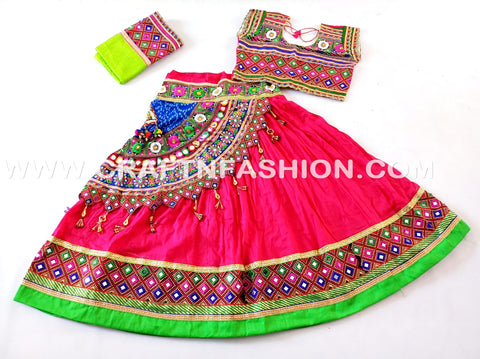 Traditional Gujarati Garba Costume Dress