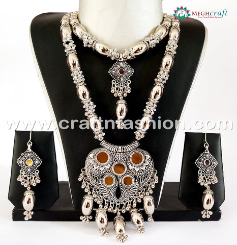 Indian Traditional Oxidized Necklace