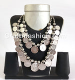 Belly Dance Costume Coin Necklace