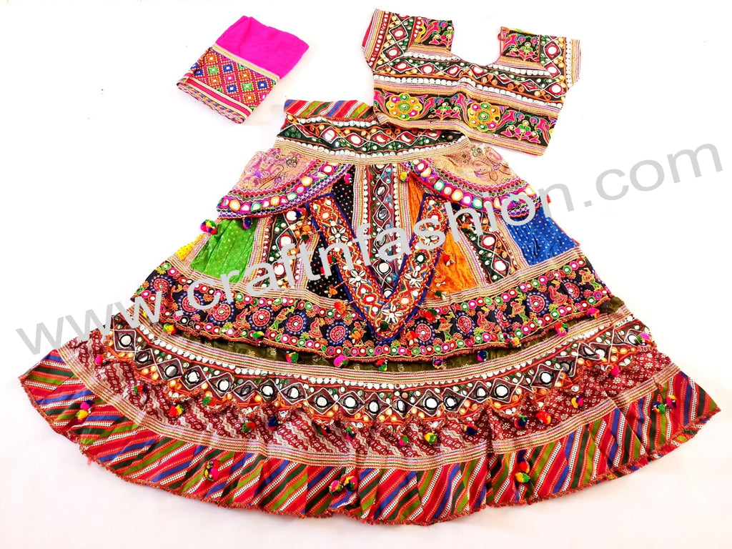 Designer Kutch Embroidery Chaniya Choli