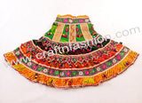 Indian Traditional Pom Pom Tassel Chaniya Choli