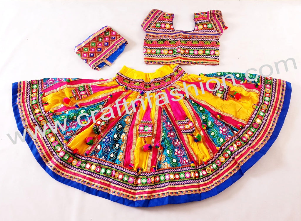 22940afa361f7e Kutch Traditional Work Lehenga Choli – Craft & Fashion