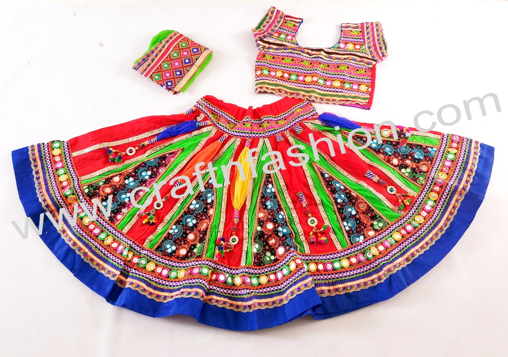 Designer Gujarati Traditional Ghaghra Choli