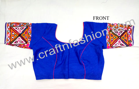 Handmade Embroidered Fashion Saree Blouse.