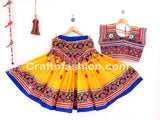 Belly Dance Wear Embroidered Lehenga Choli
