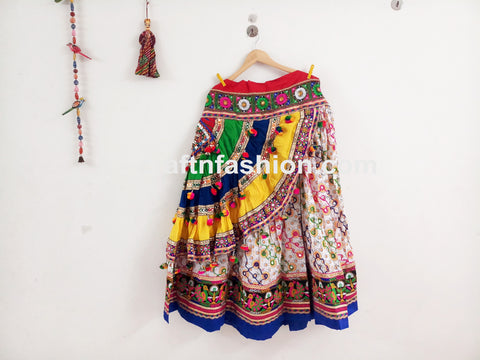 Traditional Gujarati Gamthi Chaniya Choli