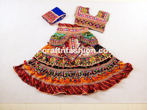 Dandiya Dance Wear Kutch Lehenga Choli