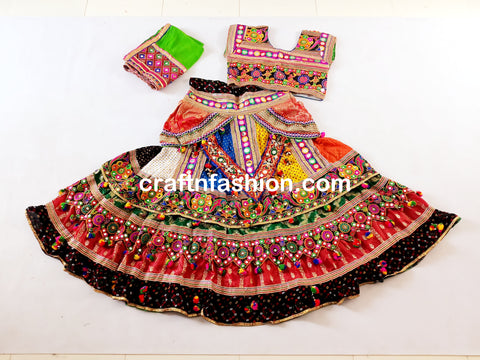 2019 Indian Traditional Navratri Costume
