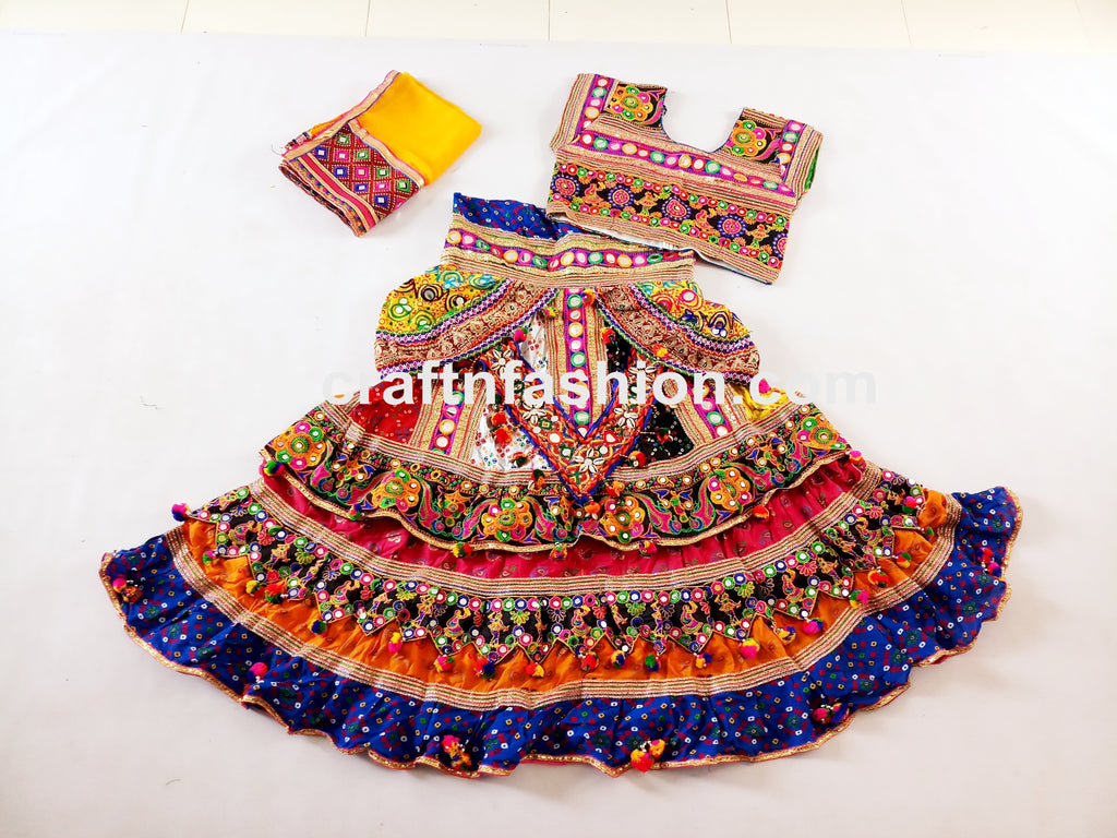 Cotton Traditional Sanedo Lehenga Choli