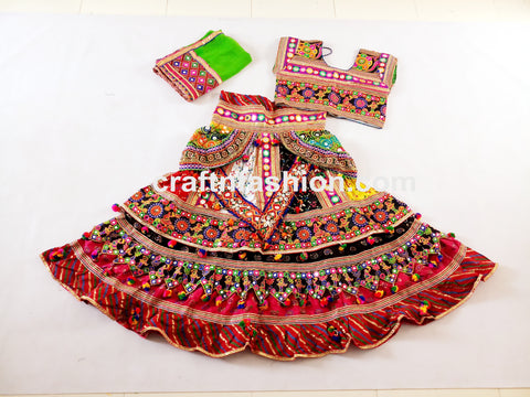 Belly Dance Costume Ghaghra Choli
