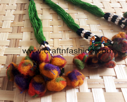 Indian Traditional Kutch Pom Pom Tassels